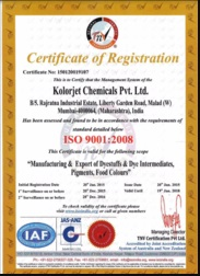 Quality Assurance Certificates